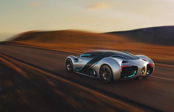 Hyperion удивил автомобилем XP-1 на водородном топливе