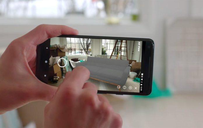 Amazon добавляет новый AR-инструмент Room Decorator