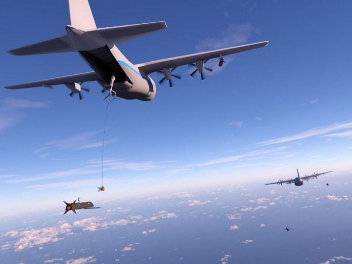 Агентство DARPA успешно провела тест дронов Gremlins X-61A