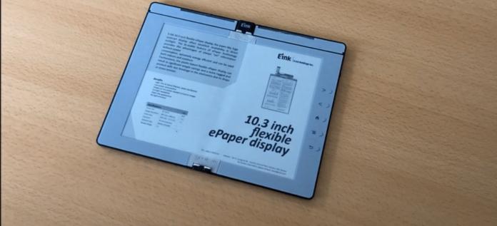E Ink представила прототип складной электронной книги