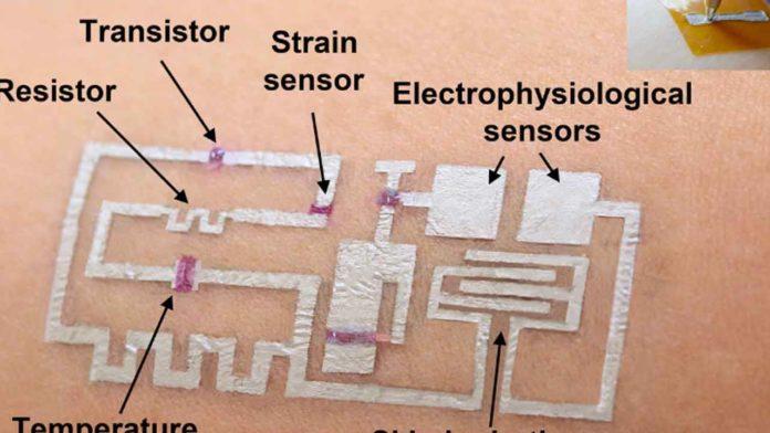 Ученые Хьюстонского Университета представили новый тип кожной электроники