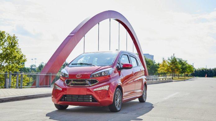 Kandi предлагает свои доступные электромобили на рынке США
