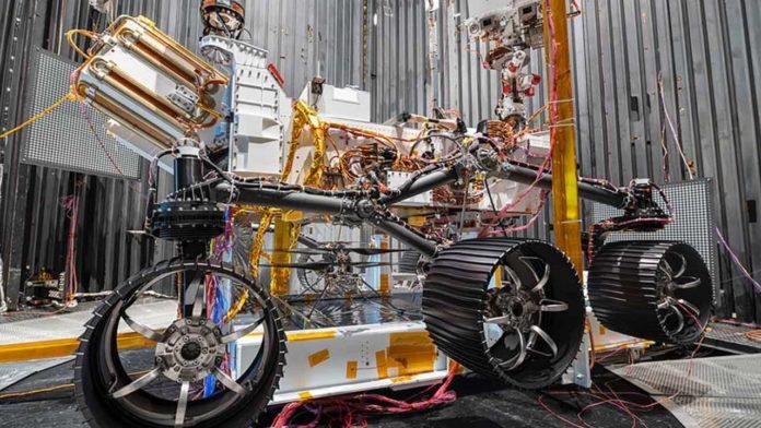 Марсианский вертолет Ingenuity на борту ровера Perseverance успешно прошел тестирование