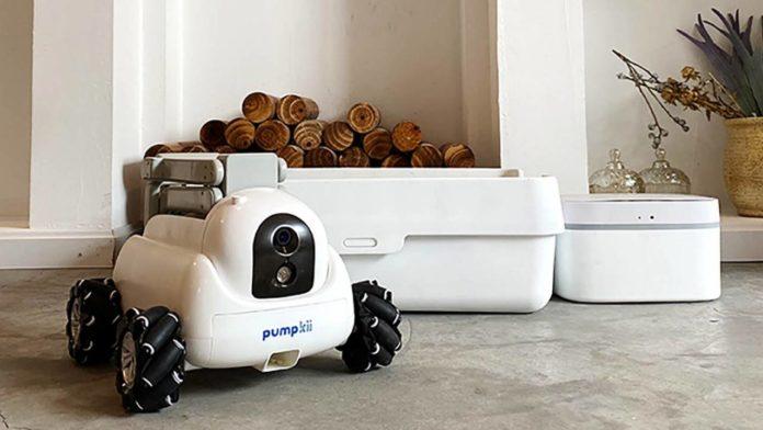 Pumpkii готовит на Kickstarter необычного робота-уборщика для питомцев