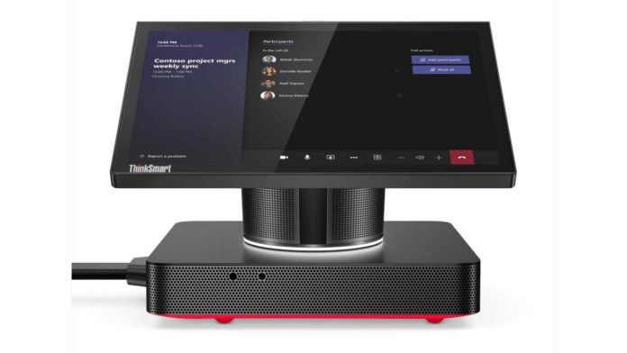 Lenovo готовит новую модель спецкомпьютера для конференций ThinkSmart Hub