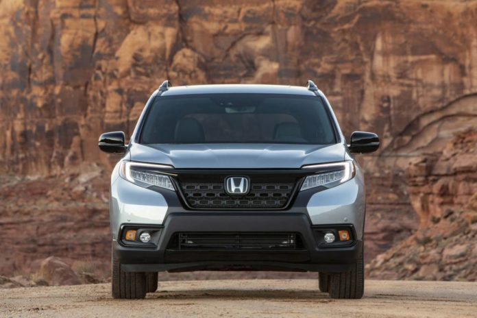 Honda готовится удивить новым внедорожником Passport 2021