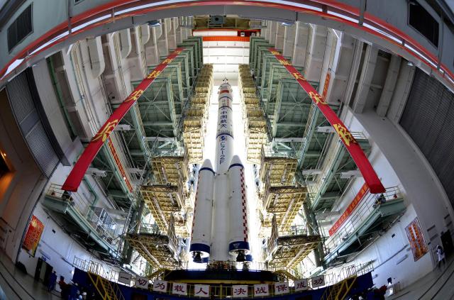 Китай тайно осуществил запуск собственной многоразовой ракеты