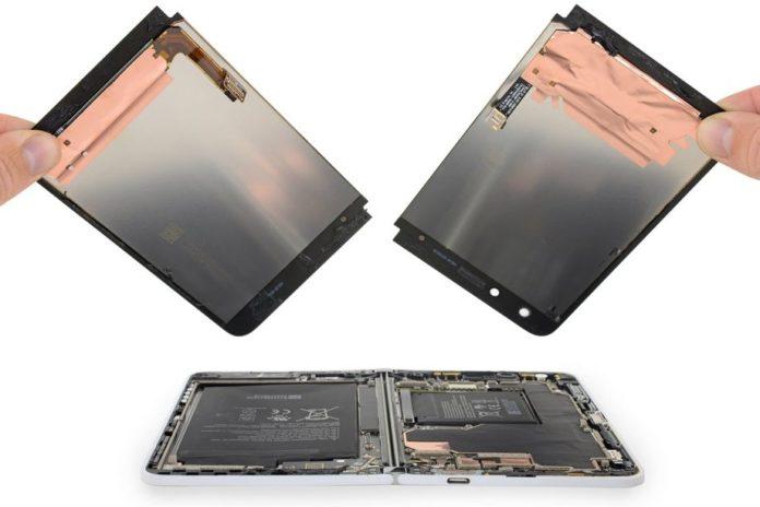 Специалисты из iFixit разобрали Surface Duo и неприятно удивились