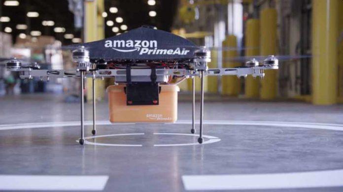 Amazon получила разрешение на развертывание дронов Prime Air