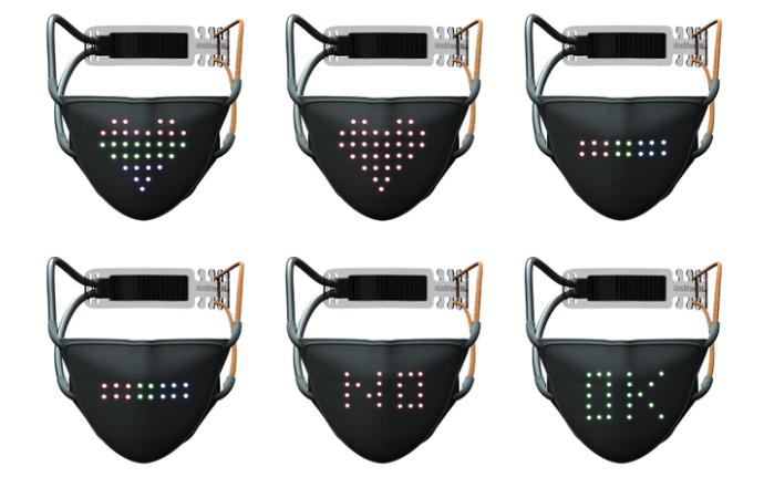 Создана необычная LED-маска JabberMask