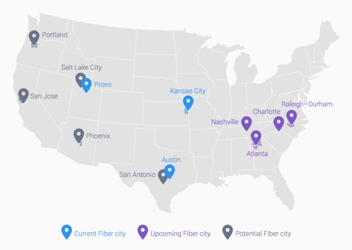 Google Fiber готовит развертывание 2-ухгигабитного интернета в США
