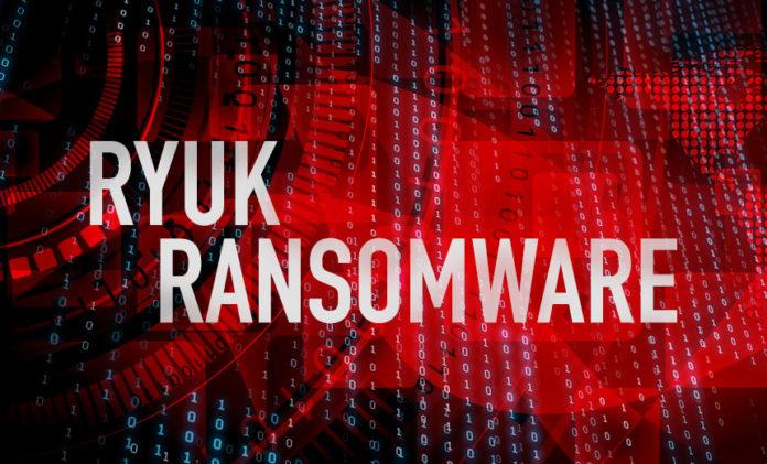 Вредоносное ПО Ryuk было замечено во взломах систем больниц UHS в США