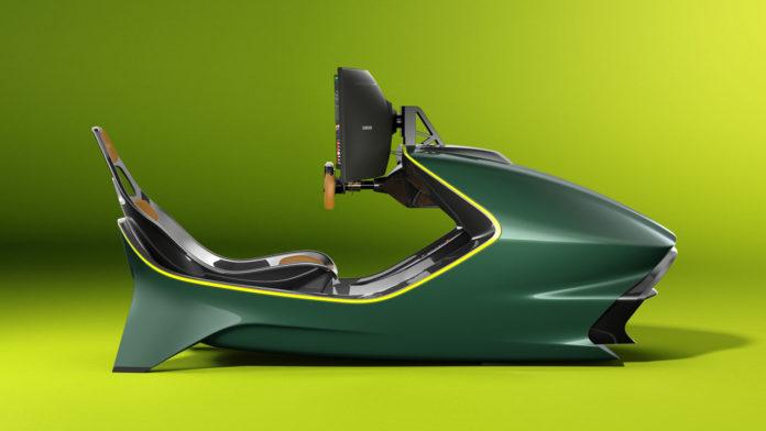 Aston Martin удивляет необычным авто-симулятором AMR-C01