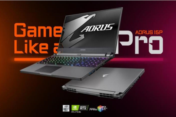 Gigabyte представила впечатляющий киберспортивный ноутбук