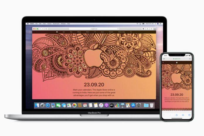 Apple откроет интернет-версию Apple Store в Индии