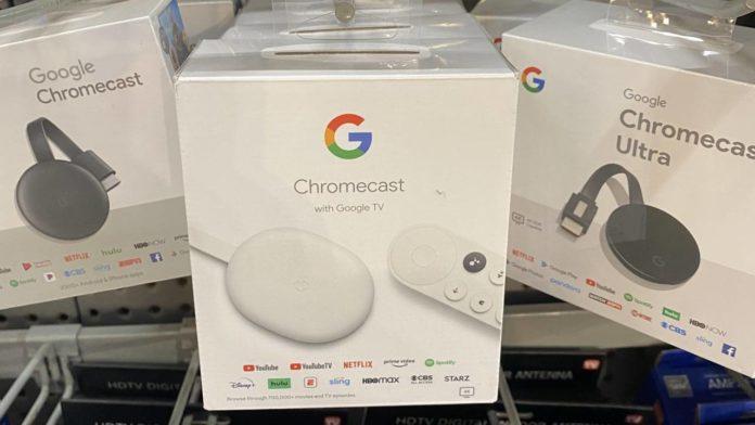 Walmart случайно стартовала ранние продажи Chromecast Google TV