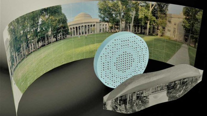 Ученые МТИ создали необычную плоскую линзу для съемки в 180 градусов