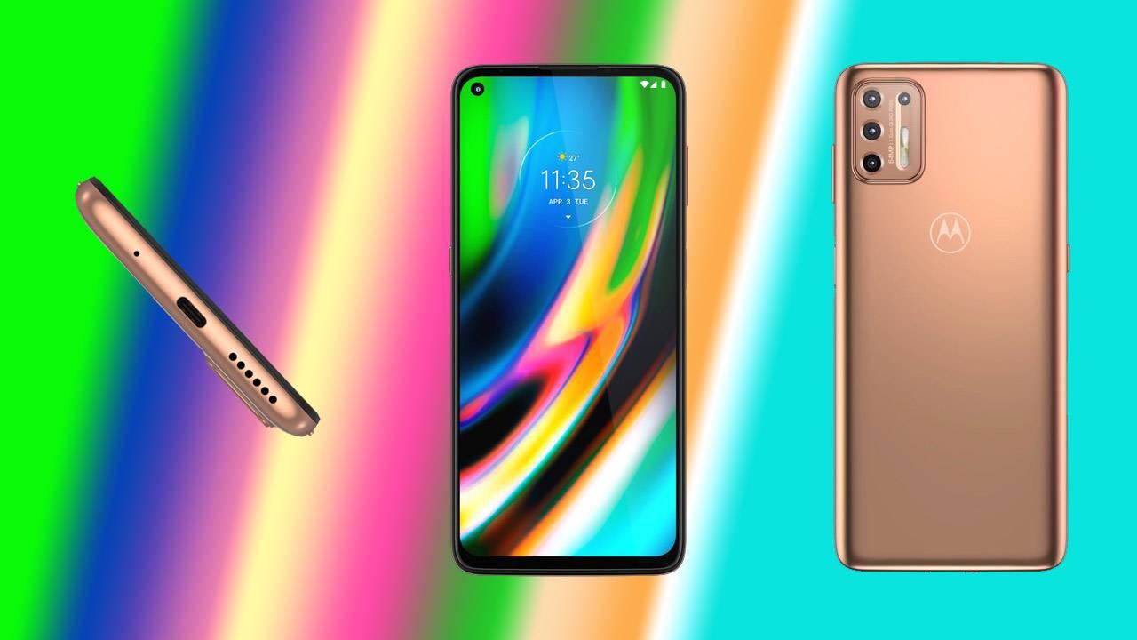 Motorola представила смартфон Moto G9 Plus