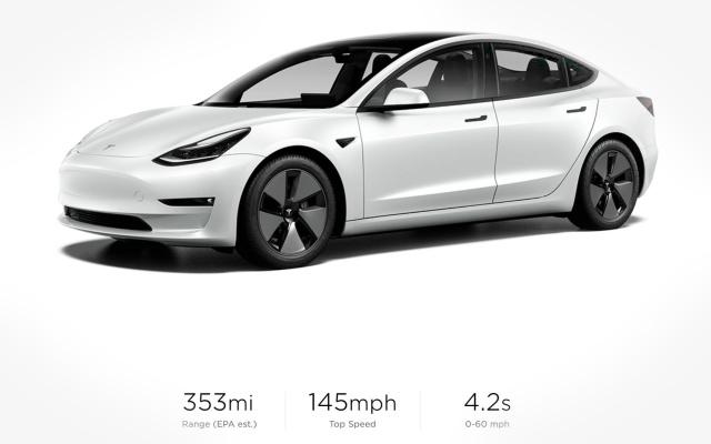 Tesla представила улучшенные Model 3 и Model Y 2021 года