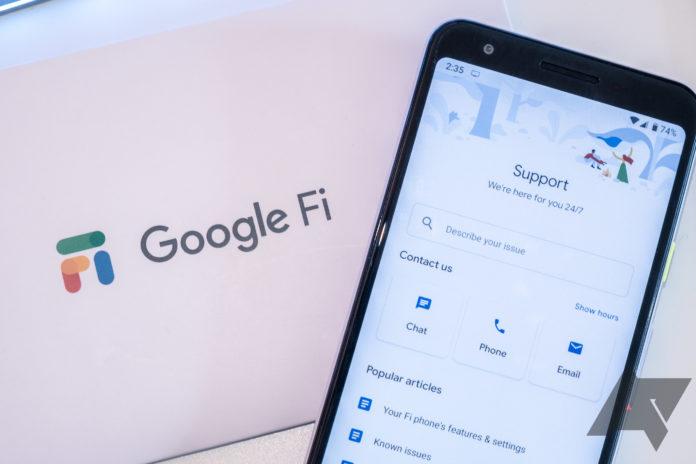 Google не включает свой сервис Google Fi в новую программу покупки Pixel 4a