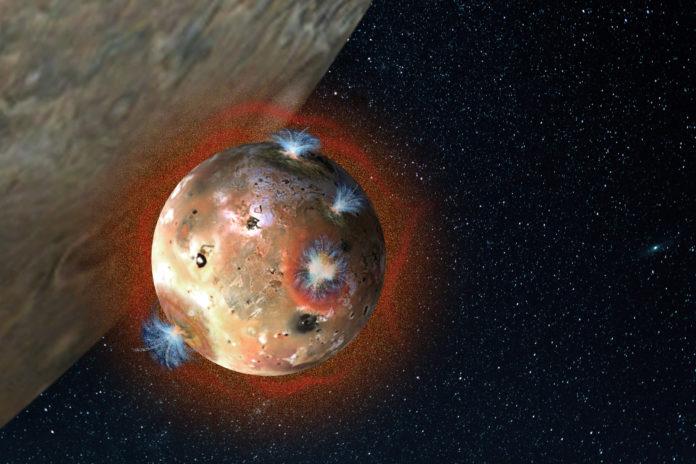 Телескоп ALMA изучает вулканическую активность на Ио