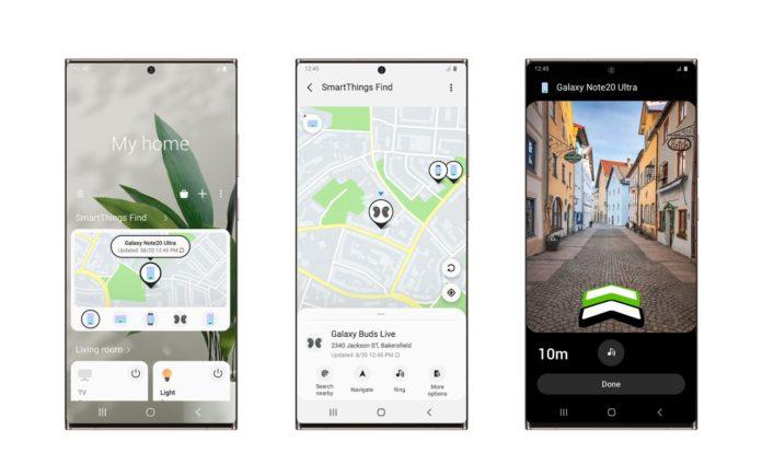 Samsung выпустил новое приложение SmartThings Find