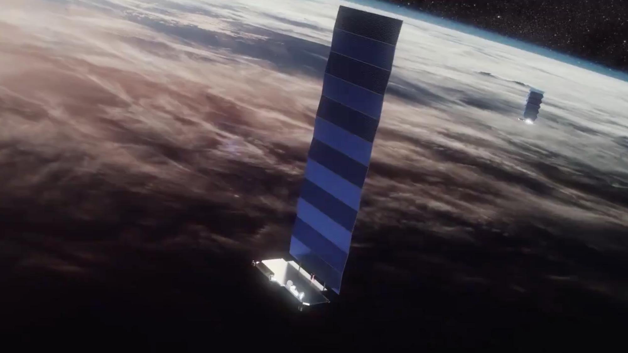 SpaceX запустила 14-ую партию спутников системы глобального доступа к интернету Starlink