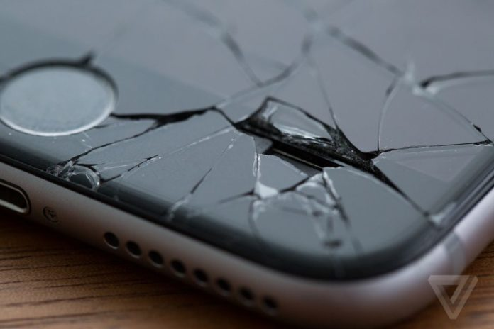 Apple запатентовала iPhone с самовосстанавливающимся экраном