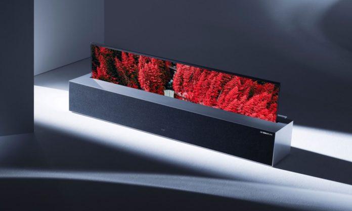 Гибкий телевизор LG Signature OLED R добрался до магазинов