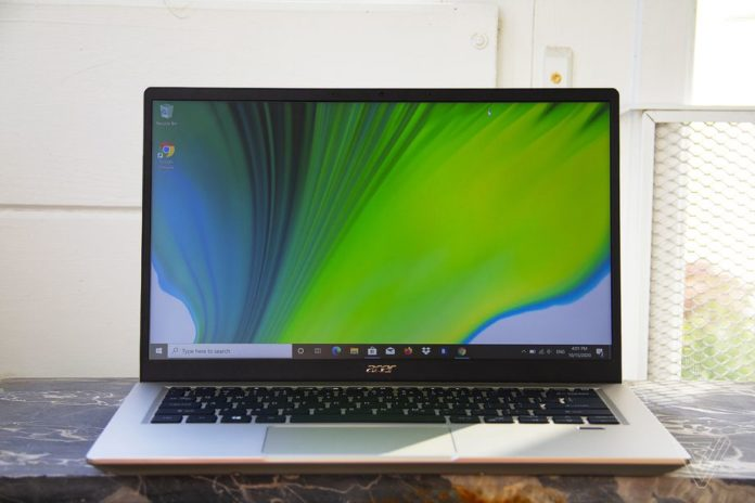 Swift 3X — интересный ноутбук с графикой Iris Xe Max