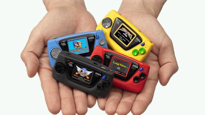 Sega готовится выпустить свою мини-консоль Game Gear Micro
