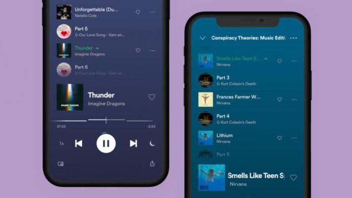 Spotify улучшает музыкальный функционал своих подкастов