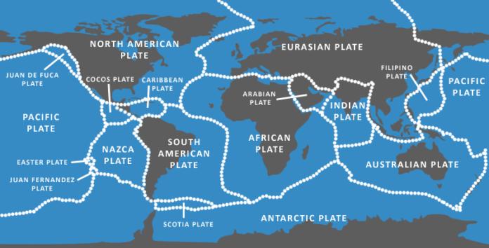 Геологи из Университета Хьюстона обнаружили скрытую тектоническую плиту в Тихом океане