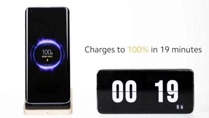 Xiaomi удивляет своей новой беспроводной зарядкой на 80W