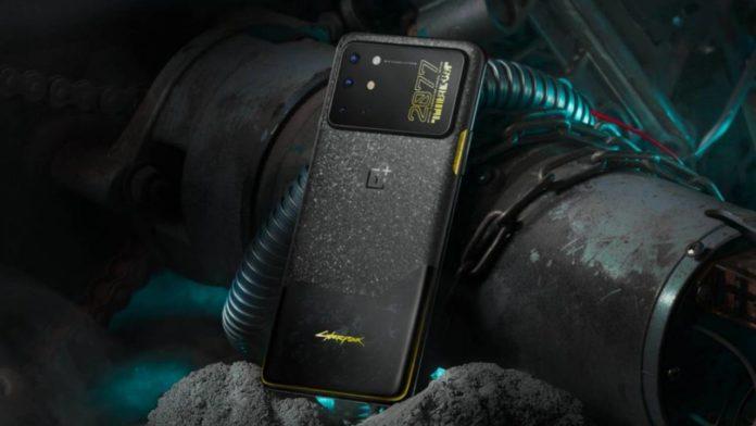 Смартфон OnePlus 8T Cyberpunk 2077 удивляет в Китае