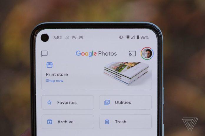 Некоторые функции Google Фото станут платными