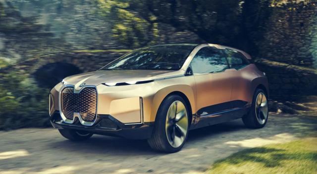 BMW покажет дизайн iNext 11 ноября