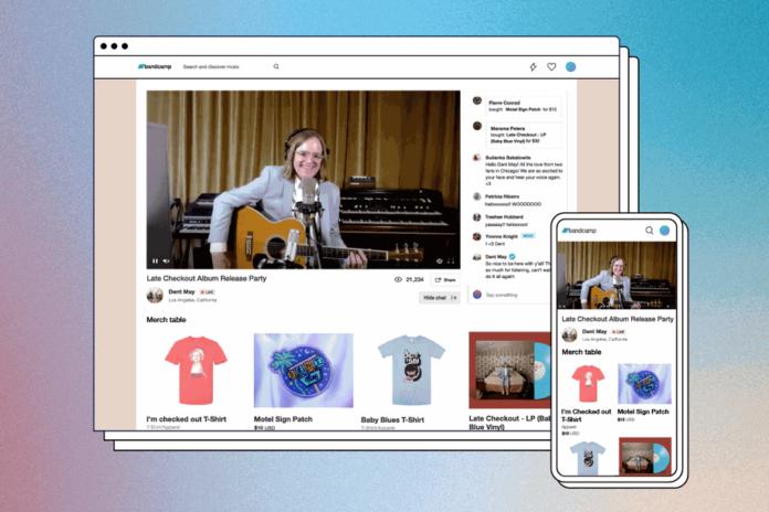 Bandcamp Live — платформа для онлайн концертов, созданная для помощи музыкантам
