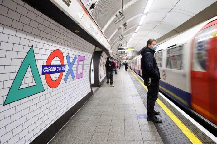 Для рекламы PlayStation 5 Sony выкупила станцию метро в Лондоне