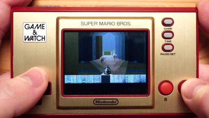 Энтузиасты «научили» Nintendo Game & Watch требовательным играм