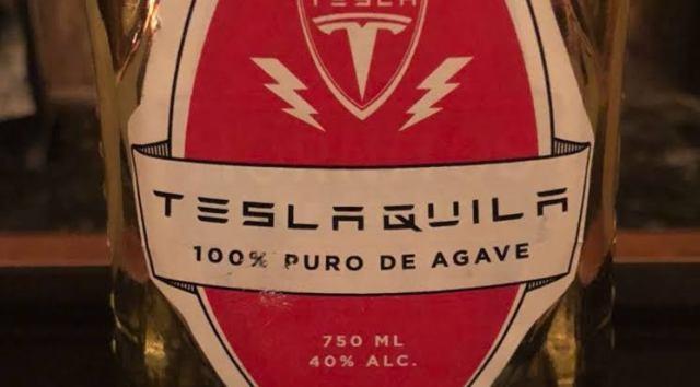 Tesla в самом деле начала выпускать свою текилу Tesla Tequila