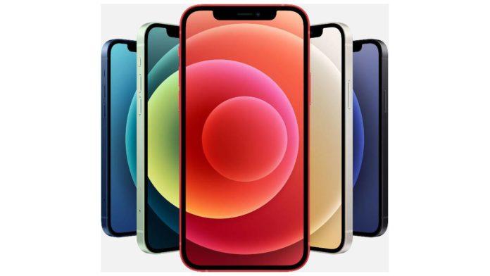 Модель iPhone 12 удивляет своими экранными артефактами