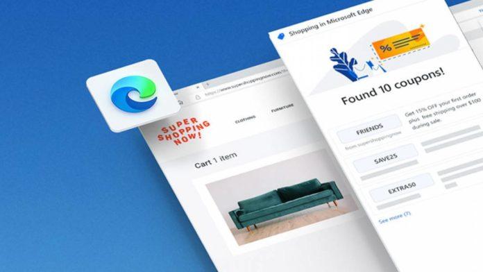 Браузер Edge пополнился полезным инструментом для онлайн-шоппинга