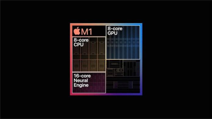 Чип Apple Silicon M1 демонстрирует отличные результаты по производительности