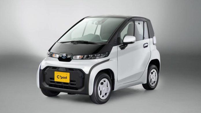 Toyota готовит новый тип городского электромобиля C+ Pod в Японии
