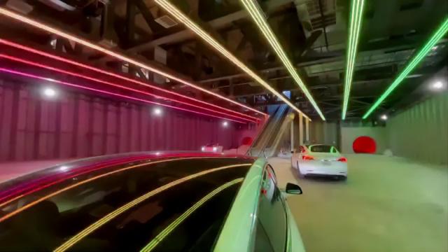 Boring Company поделилась процессом строительства одной из станций
