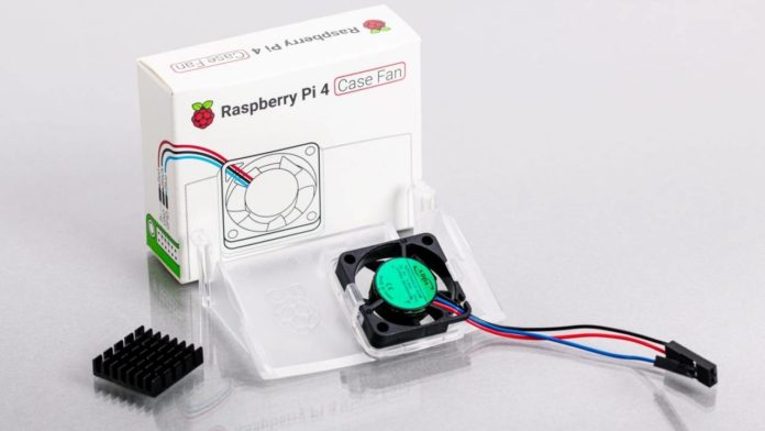 Компьютер Raspberry Pi 4 получает новое охлаждение