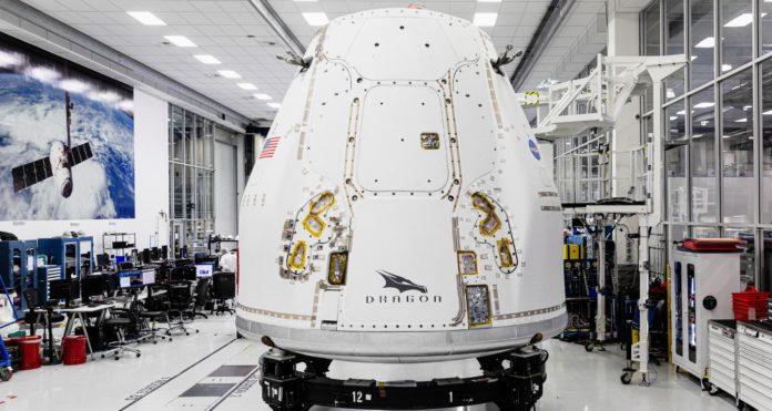 Корабль Cargo Dragon 2 был успешно отправлен на МКС
