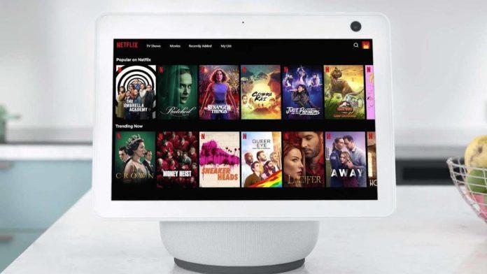 Amazon Echo Show получает добавление сервиса Netflix