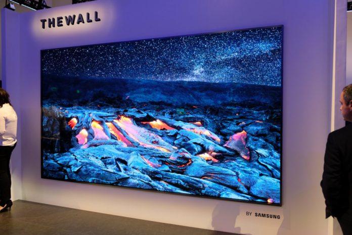 Samsung сделает свои MicroLED телевизоры более доступными